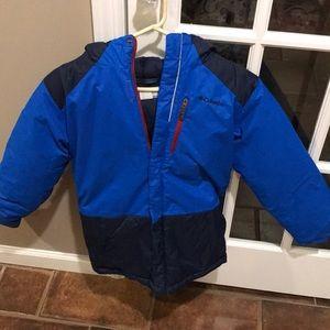 Boys Columbia ski jacket